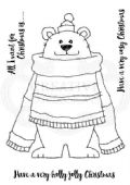 Woodware - Polar Bear Pete - Clear Magic Stamp Set - FRS711